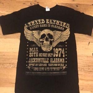 Vintage Lenard Skynard Replica Concert T, Small